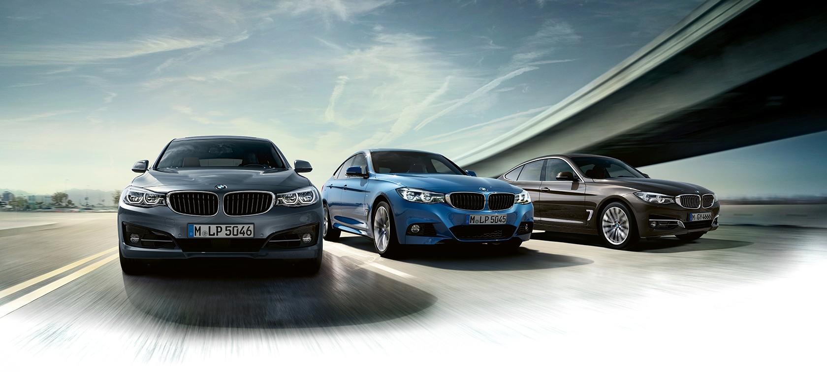 6a05035622c52 BMW radu 3 Gran Turismo: Modely a výbava